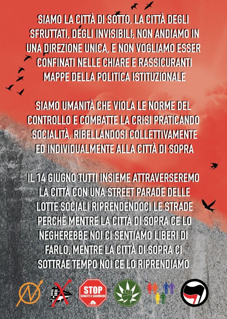 Street Parade della Città di Sotto 14-06-14 retro